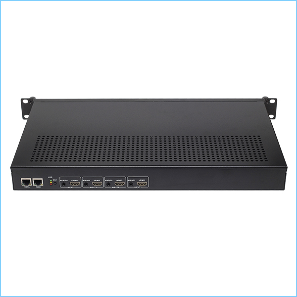 Y525 Dual Ethernet 4*HDMI Encoder