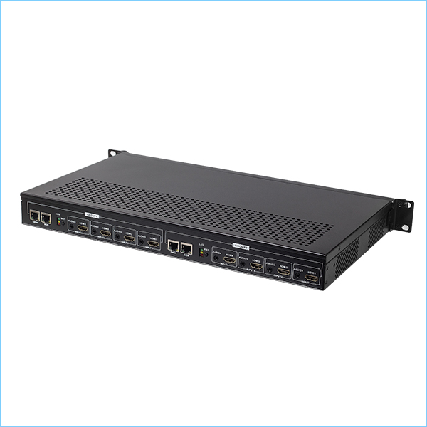 Y535 H.265/H.264 Dual Ethernet 8 channel HDMI Encoder